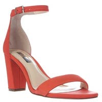 I35 Kivah Ankle Strap Dress Sandals, Rumba Orange