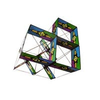 Mission Cross Box Set Kite - Multi-color