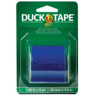 Duck 285439 Heavy duty Duct Tape, Blue, 5 yard L