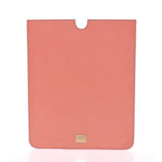Dolce & Gabbana Dolce & Gabbana Pink Leather iPAD Tablet eBook Cover