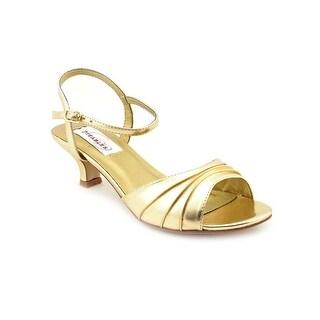 Dyeables Brielle D Open Toe Synthetic Sandals