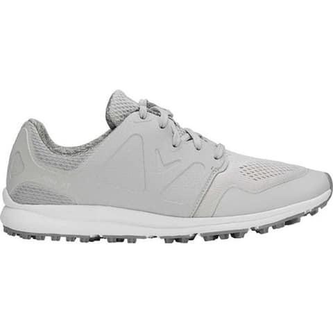 Callaway Women's Solana XT Golf Shoe Light Grey Performance Mesh