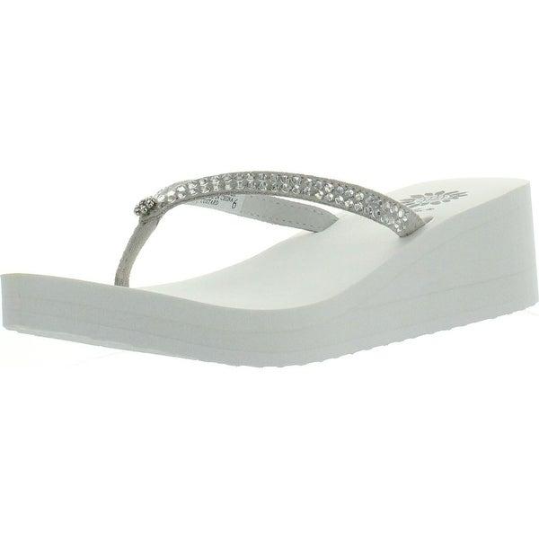 Custard Flip Flop Sandal