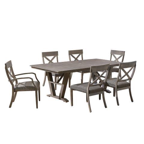 OVE Decors Farmingham 7-Piece Patio Dining Set