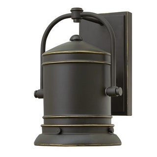 """Hinkley Lighting 2210 10.5"""" Height 1 Light Dark Sky Outdoor Wall Sconce from the Pullman Collection"""