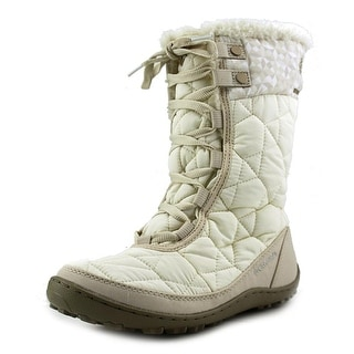 Columbia Minx Mid II Omni-Heat Women Round Toe Synthetic White Winter Boot