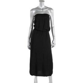 MICHAEL Michael Kors Womens Strapless Full Length Casual Dress - L
