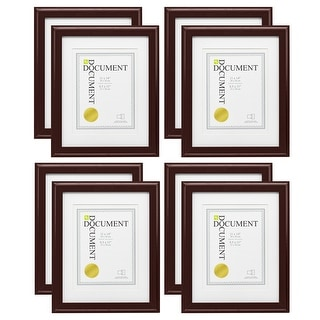 "Link to kieragrace KG Oxford Document Frame - Brown - 11"" x 14"" Similar Items in Decorative Accessories"