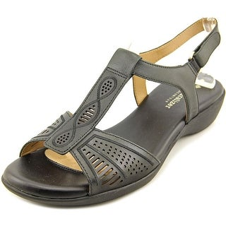 Naturalizer Network Women N/S Open-Toe Leather Slingback Sandal
