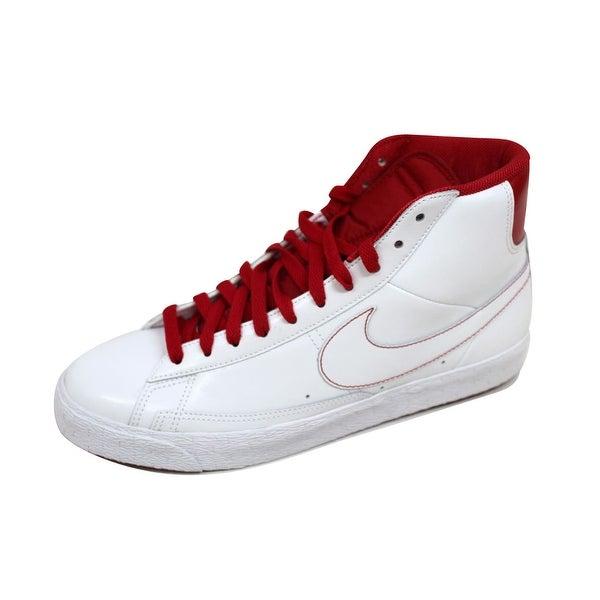 Nike Men's Blazer SP White/Varsity Red-Midnight Navy 379416-100 Size 11