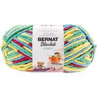 Bernat Blanket Brights Big Ball Yarn - Rainbow Shine Variegated