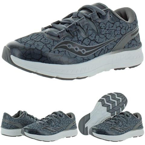 Saucony Boys Freedom ISO Running Shoes Performance Lace Up - Ash/Quake