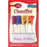 Happy Birthday - Betty Crocker Birthday Candles 13/Pkg