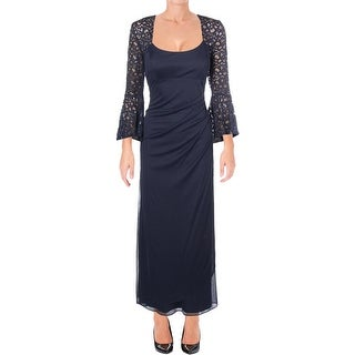 X by Xscape Womens Petites Cocktail Dress Special Occasion Evening