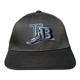 cheap for discount 38a2d 00c8e Shop New Era MLB Classic Tampa Bay Devil Rays Hat - Black - Free Shipping  On Orders Over  45 - Overstock - 16948359