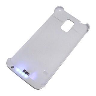 AGPtek Ultra-thin 3200mAH Backup Battery Case External Battery Pack for Samsung Galaxy S5 SV - White