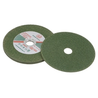 4 Inch Cutting Wheels Grinding Discs Cut-Off Wheel for Metal Green 5 Pcs
