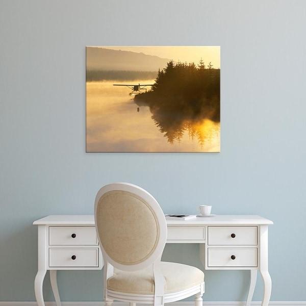 Easy Art Prints Adam Jones's 'Beluga Lake At Dawn' Premium Canvas Art
