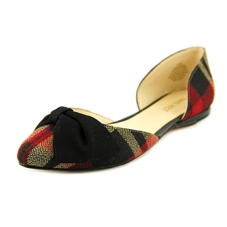 Nine West Stefany Pointed Toe Canvas Flats