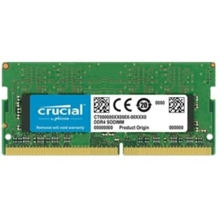 Crucial Memory CT16G4SFD8266 16GB DDR4 2666MT/s CL19 DR x8 Unbuffered SODIMM Retail