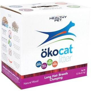 Okocat Natural Wood Cat Litter Long Hair Breeds