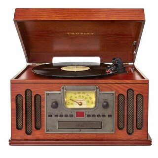 Crosley Musician Deluxe Bluetooth Turntable Record Player - Paprika