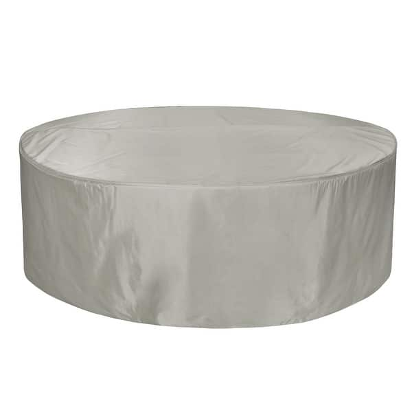 Shop Cover Bonanza 70 Inch Round Table And Chair Cover Overstock 31660987