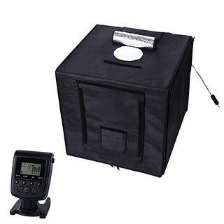 Polaroid Portable Studio Box Photography Tent with LED Light Panel & Remote Control