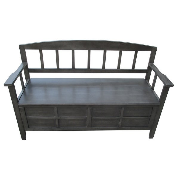 Riley Entryway Bench with storage. Opens flyout.