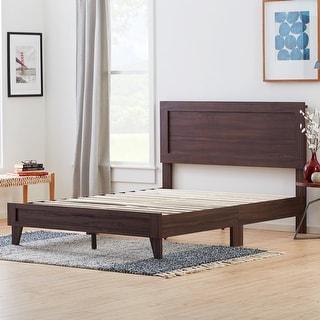Brookside Leah Classic Wood Platform Bed (Rustic Mahogany - California King)