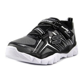 Skechers Electronz Youth Round Toe Synthetic Gray Sneakers