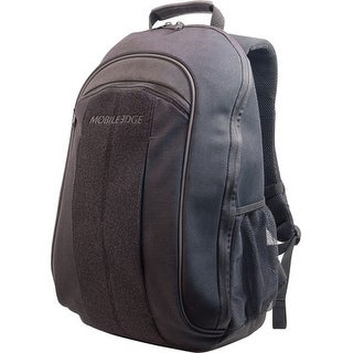 "Mobile Edge MECBPM1 Mobile Edge Eco Carrying Case (Backpack) for 14"" Notebook - Black - Shoulder Strap"