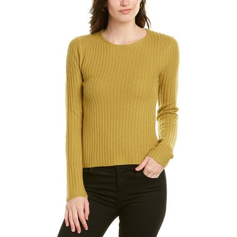 Vince Fitted Wool & Cashmere-Blend Sweater