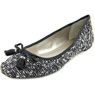Alfani Camroon Square Toe Canvas Flats