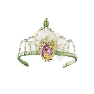 Disguise Disney Princess Princess Tiana Tiara - Green