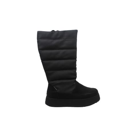 Adrienne Vittadini Womens PiperPuff Closed Toe Mid-Calf Cold Weather Boots
