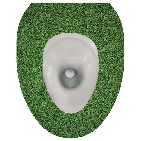 Swell Toilet Seat Lid Sticker Tattoo Golf Ball Evergreenethics Interior Chair Design Evergreenethicsorg