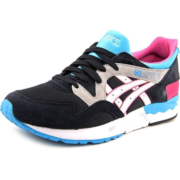 Asics Gel-Lyte V Men Round Toe Suede Multi Color Running Shoe