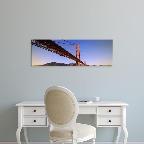 Easy Art Prints Panoramic Images's 'Golden Gate Bridge, San Francisco, Marin County, California' Canvas Art