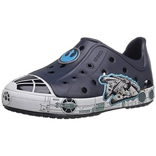 Crocs Bump It Millenniumfalcon Toddler Boys Star Wars Casual Shoes - 8 medium (d)