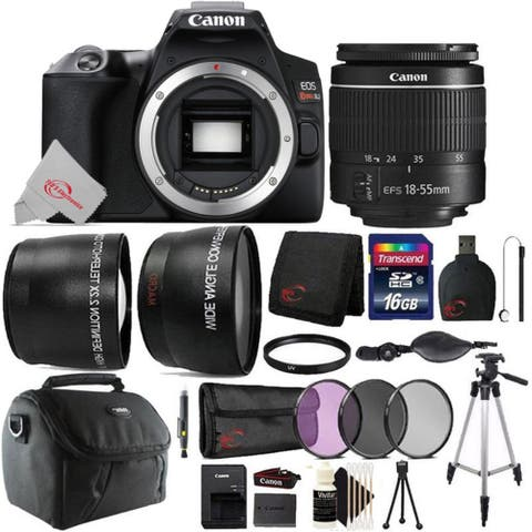Canon EOS Rebel SL3 DSLR Camera with 18-55mm Lens + 16GB Memory Card Kit