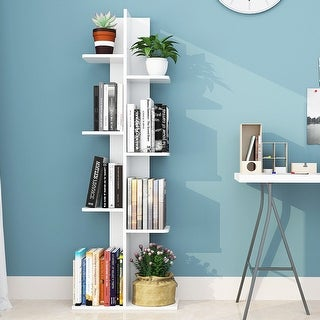 Link to Costway Open Concept Bookcase Plant Display Shelf Rack Storage Holder Similar Items in Bookshelves & Bookcases