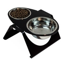 The Egg-i Pet Feeder for Small to Medium size Cats and Dogs by dripmodule