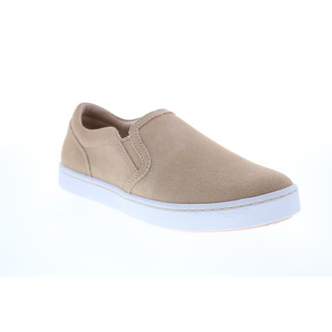 Clarks Pawley Bliss Blush Suede Womens Lifestyle Sneakers