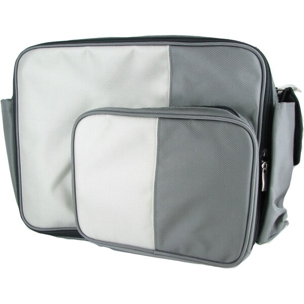O Yikes Grey Medium Messenger Bag