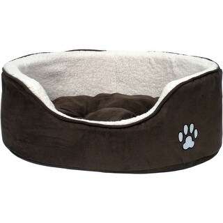 - Petface Extra Large Luxury Oval Bed