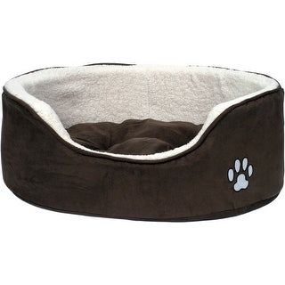 - Petface Large Luxury Oval Bed