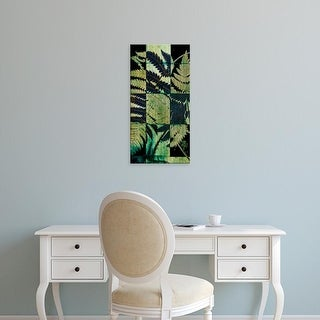 Easy Art Prints Vision Studio's 'Midnight Ferns I' Premium Canvas Art