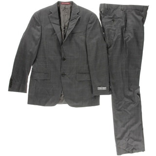 Hart Schaffner Marx Mens Wool 2PC Two-Button Suit - 38s