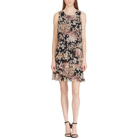 American Living Womens Tyree Casual Dress Sleeveless Floral